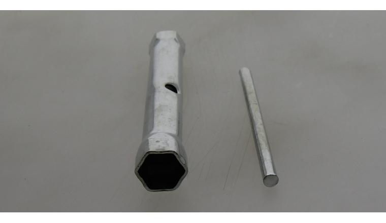 Clé à bougie d\'allumage à tube 19x21mm