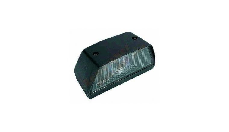 Eclaireur de plaque pour remorque (petit modèle) 65x36 mm