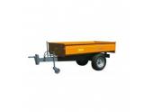Remorque Basculante Charge Utile 700 kg RMT 700 - Majar