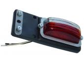 Feu de gabarit blanc / rouge précablé sur languette caoutchouc