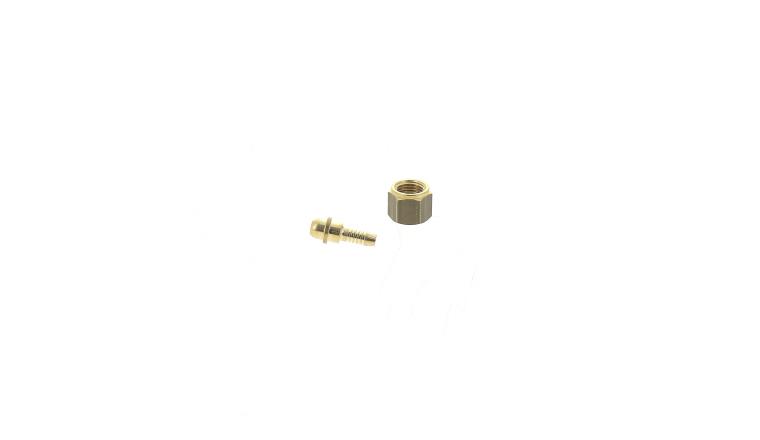 Olives et écrous x2 connectique gaz face arrière TIG GYS réf 045712