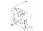 Pivot d\'Arbre pour essieu Avant de tracteur Case - Ref 786190R2 - Case