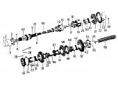Circlips Extérieur pour Arbre et Pignon - Ref 933569R1 - Case