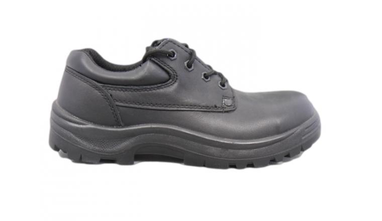 chaussure basse de s curit coverguard s3 cuir noir du. Black Bedroom Furniture Sets. Home Design Ideas