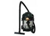Aspirateur eau/poussière 1250W cuve 20L en inox LEMAN LOASP201