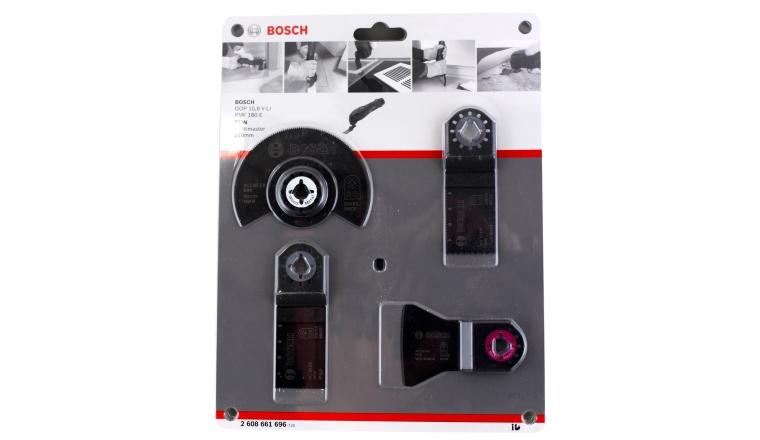 Bosch 2608661696 - Set de montage 4 accessoires pour outil multifonction