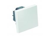 Mécanisme Poussoir sans voyant blanc brillant CASUAL - Debflex 742164
