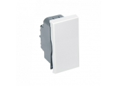 Mécanisme demi poussoir blanc brillant CASUAL - Debflex 742264