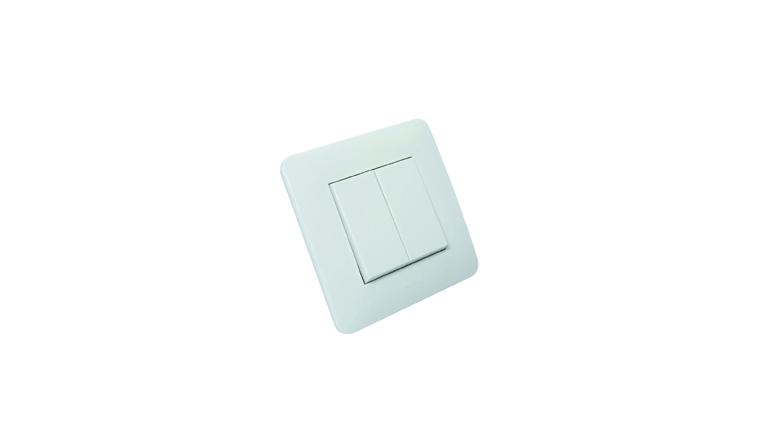 Interrupteur va-et-vient double complet CASUAL - Debflex 742720