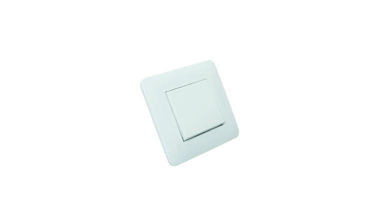 Poussoir blanc brillant complet CASUAL - Debflex 742730