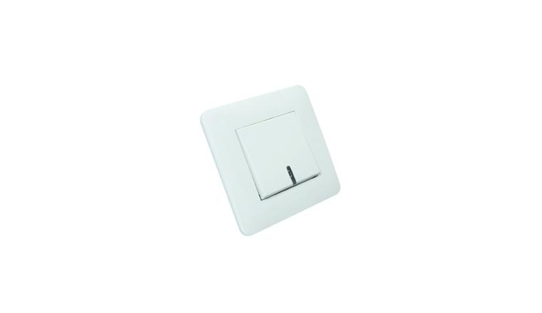 Poussoir à voyant blanc complet CASUAL - Debflex 742740