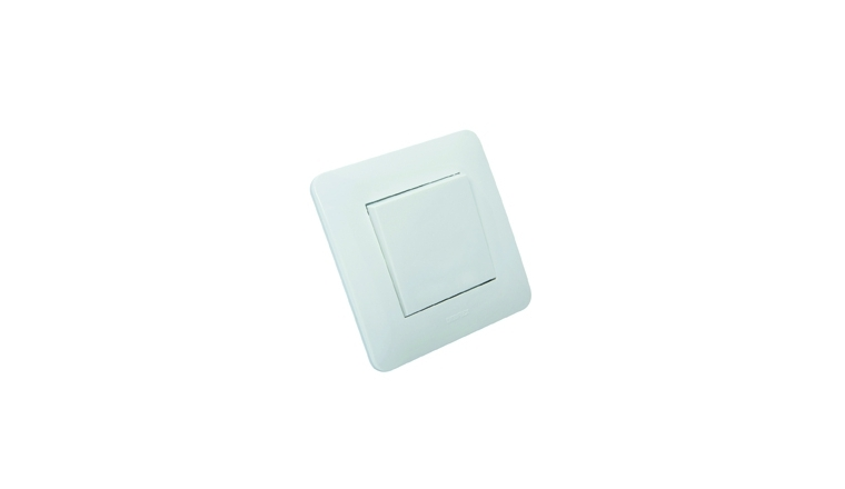 Interrupteur va-et-vient complet blanc brillant CASUAL - Debflex 742750