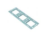 Plaque support métal triple CASUAL - Debflex 742004