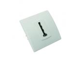 Prise téléphone blanc encastrable PERFECT - Debflex 737190