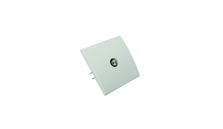 Prise TV encastrable blanc PERFECT - Debflex 737180