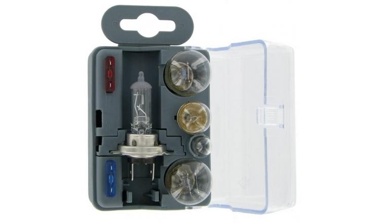 Coffret de secours H7 5 ampoules / 2 fusibles