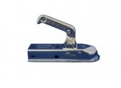 Boitier d\'attelage remorque pour carré 50 mm - Fixation Verticale / horizontale
