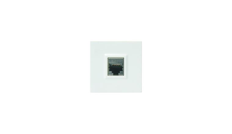 Mécanisme RJ45 blanc brillant CASUAL - Debflex 742374