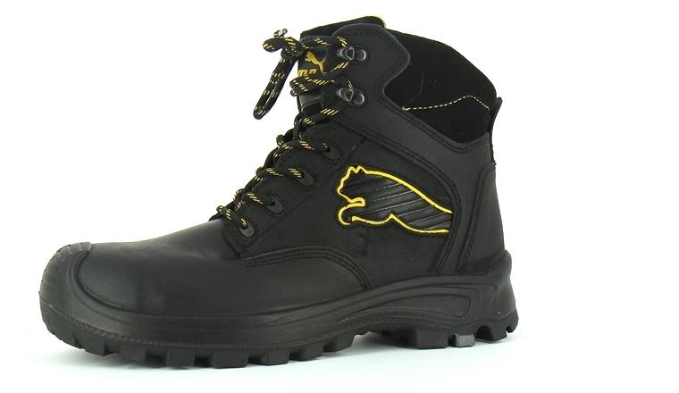 Borneo De Black Chaussure Haute Sécurité Puma 0Nnm8vw