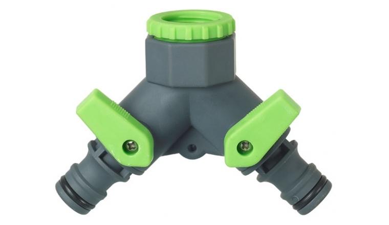 Nez de robinet avec sélecteur 2 circuits 15x21 - 1/2\