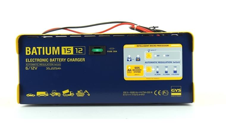 Chargeur de batterie BATIUM 15/12 Gys