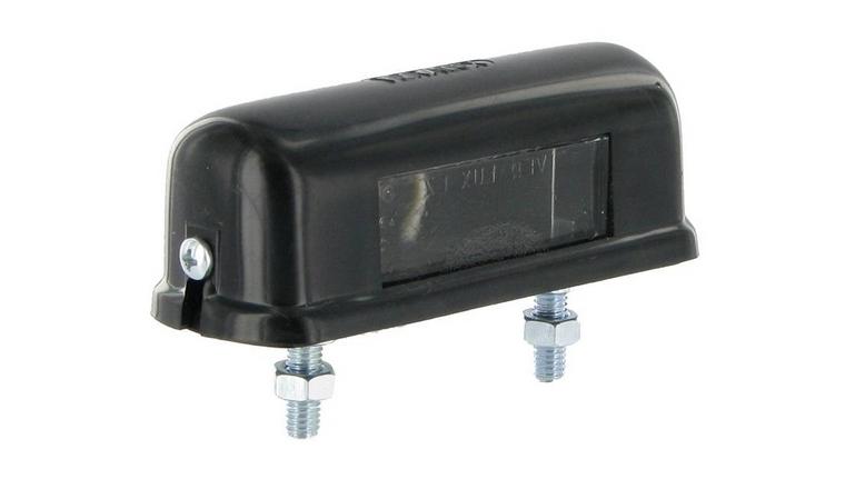 Feu éclaireur de plaque universel pour remorque 82x30x32