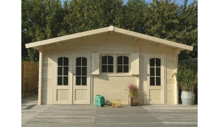 abri de jardin en bois 40 mm m solid s8970. Black Bedroom Furniture Sets. Home Design Ideas