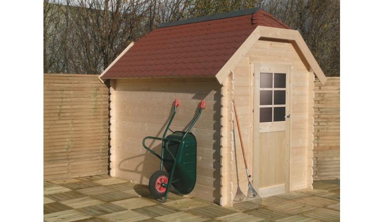 Abri de jardin en Bois GALWAY Solid 4.79 m² S8503
