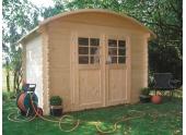 Abri de jardin en Bois DAINVILLE Solid 5.88 m² S844