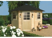 Abri de jardin en Bois NANCY Solid 5.45 m² S8205