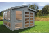 Abri de jardin en bois MERANO Solid 8.58 m² S8247
