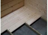 Plancher en bois Solid 2X-S8522-1 Autoclave