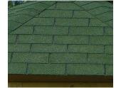 Revêtement de toit Shingles Vert Solid 33 m² 11X-S575