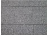 Revêtement de toit Shingles Gris Solid 12 m² 4X-S577