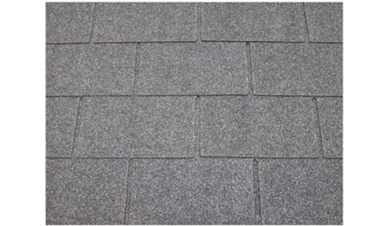 Revêtement de toit Shingles Gris Solid 30 m² 10X-S577