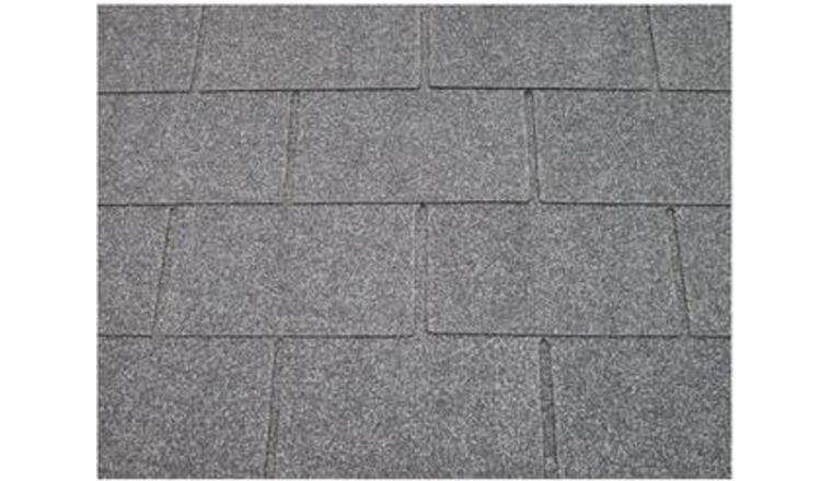 Revêtement de toit Shingles Gris Solid 36 m² 12X-S577