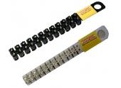 Barrette de connexion 10mm² - 12 plots - noire ou blanche - DEBFLEX