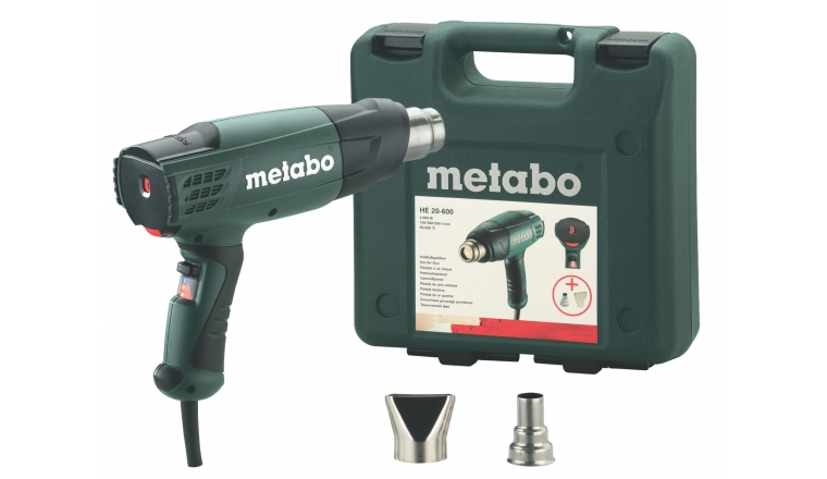 Pistolet à air chaud 2000W METABO HE20-600