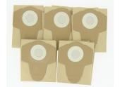 Lot de 5 sacs papier pour aspirateur LOASP301 LEMAN