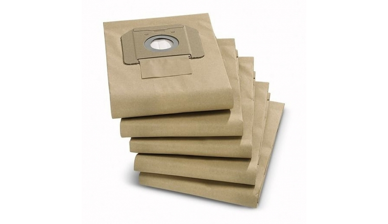 Lot de 5 sacs d\' aspirateurs Papier 6.904-210.0 KARCHER
