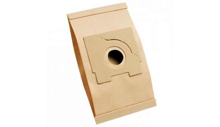 Lot de 5 sacs d\'aspirateur Papier T 166 MENALUX