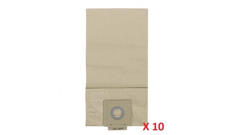 Lot de 10 sacs d\'aspirateur papier 6.904-333.0 KARCHER