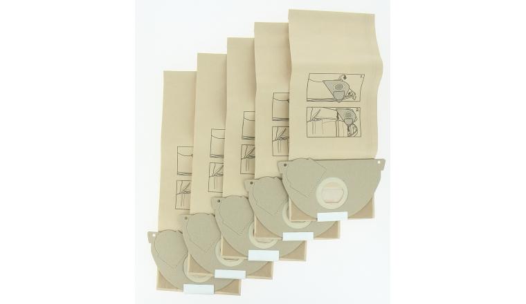 Lot de 5 sacs d\'aspirateur papier 6.904-167.0 KARCHER