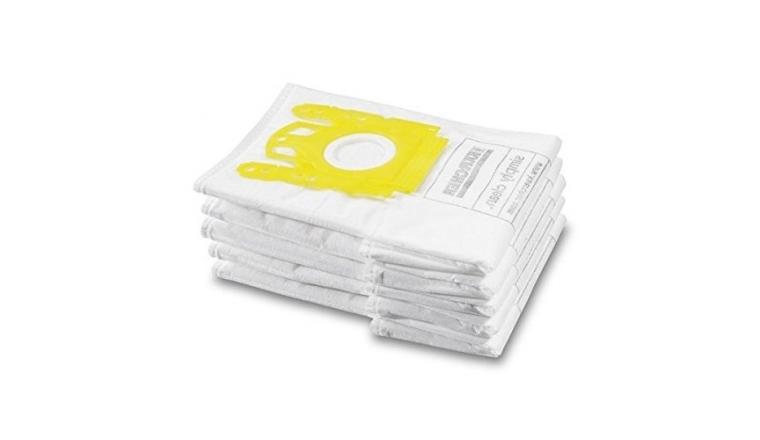 Lot de 5 sacs d\'aspirateur Ouaté 6.904-329.0 KARCHER