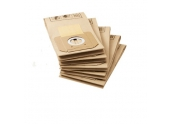 Lot de 5 sacs d'aspirateurs papier 6.904-263.0 KARCHER