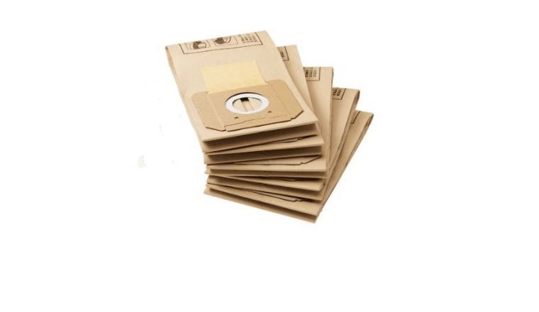 Lot de 5 sacs d\'aspirateurs papier 6.904-263.0 KARCHER