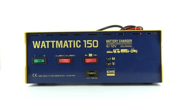 Chargeur de batterie WATTMATIC 150 Gys