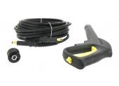 Kit raccord rapide, flexible haute pression 12 m et lance pistolet  (2.642-953.0) pour nettoyeur haute pression KARCHER