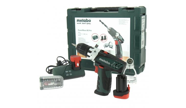 Perceuse visseuse Metabo Powermaxx BS Pro