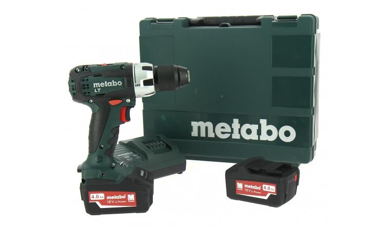 metabo bs 18 lt avec 2 batteries 4ah au meilleur prix. Black Bedroom Furniture Sets. Home Design Ideas